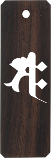 黒檀 (特大) 梵字のみ